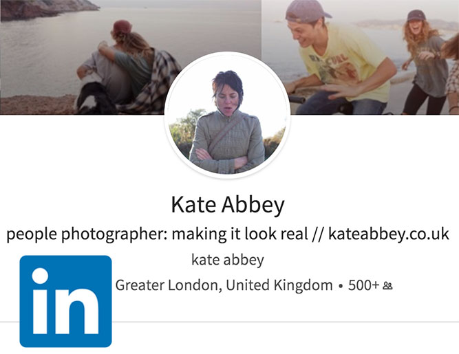 Kate Abbey LinkedIn